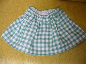 まーちゃんのスカート