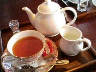 紅茶を注文♪