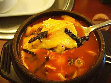 スンドゥブチゲ鍋