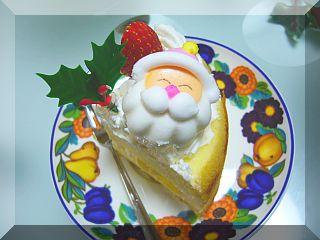 サンタのケーキ