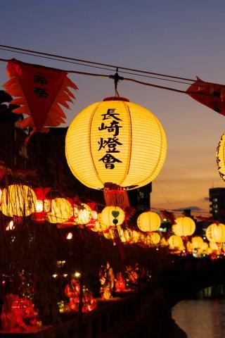 長崎燈會(中島川)
