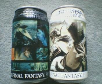DISSIDIA FINAL FANTASY POTION キャラクター缶(カオス&コスモス)