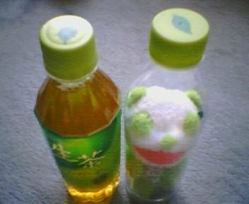 出た! 生茶パンダ先生! inボトル