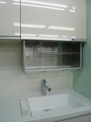洗い終わったお皿を置いとく棚