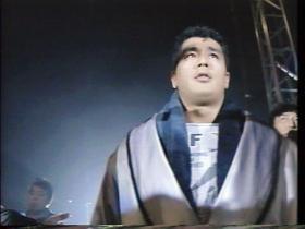 王者・高田入場