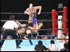 永田の強烈ジャーマン
