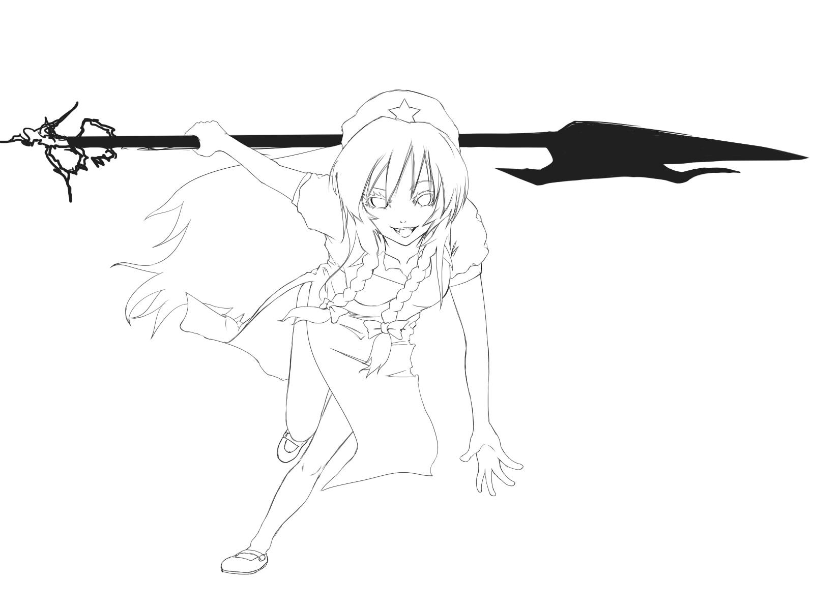 紅美鈴×武器