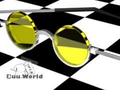 3DCG練習サングラス2002