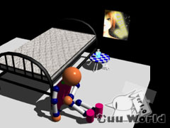 3DCG練習部屋2002