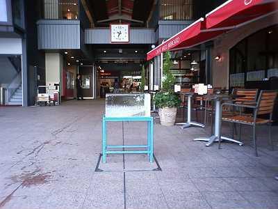近江町市場夏の風物詩 氷柱