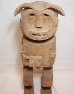 アカ族人形1