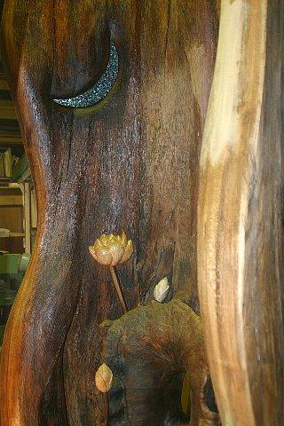 樹霊と蓮 写真 015