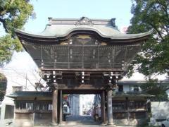 聖護寺の正門