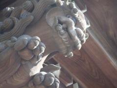 聖護寺の守り神
