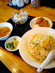 九品寺の中国料理 唐来坊で中華ランチ。