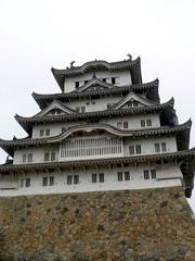 神戸・姫路の姫路城はとても美しかったです。