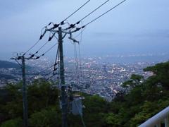 神戸・摩耶山掬星台で1000万ドルの日本三大夜景!