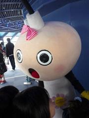 京都・京都タワーで今話題のたわわちゃんを激写!