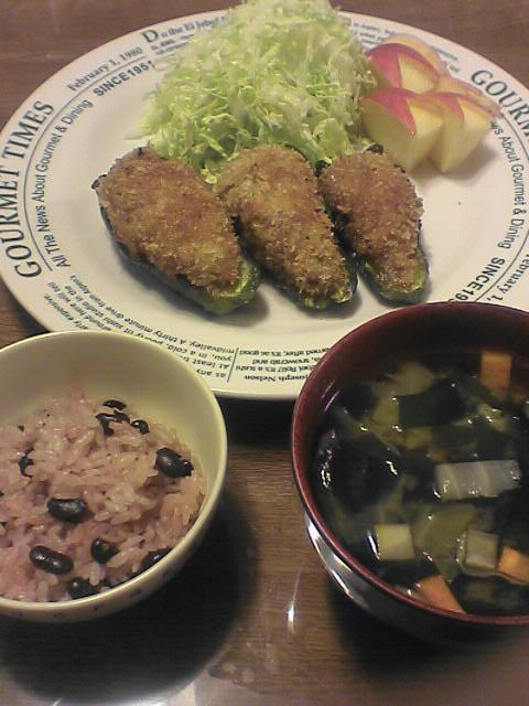 6月7日の夕食