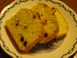 クリームチーズ&ブルーベリーのパウンドケーキ