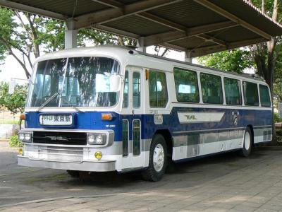 さくら交通公園に保存されている国鉄バス747-9901号車