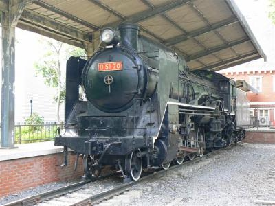 もう一つの保存車両 D51 70 蒸気機関車