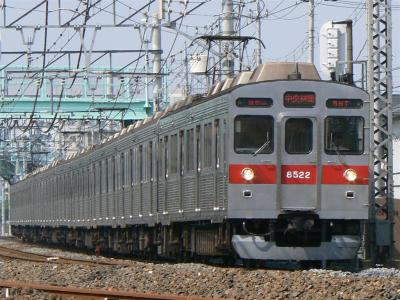 C1356T列車に充当された東急8500型8522F