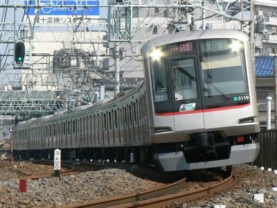 F1316K列車に充当された東急5000型5110F