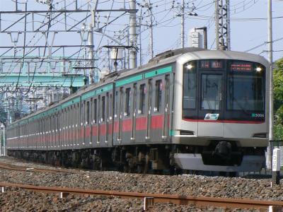 C1415K列車に充当された東急5000型5106F