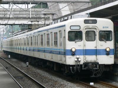 野田線で活躍する初期更新車8104F