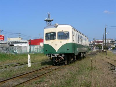第24列車に充当され鉾田駅を発車するキハ430型431号車