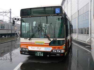 東武バスウエスト大宮営業事務所所属の9802号車