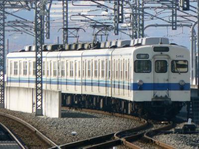 栃木駅引上げ線で折返し待ちの5162F