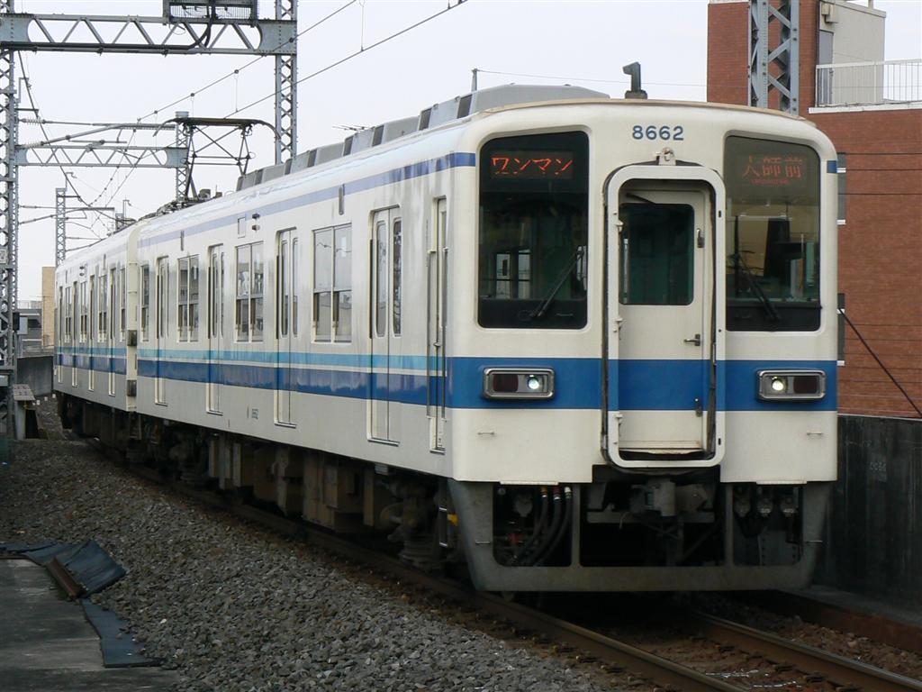 narikko's Blog - 東武大師線に館林出張所所属ワンマン車 -
