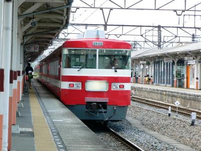 東武日光に向けて下今市駅を発車する18型