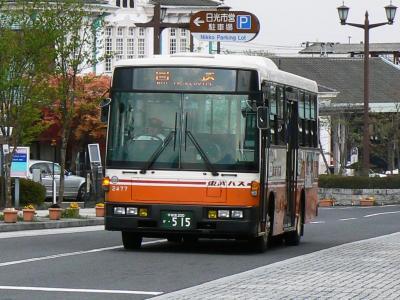 東武バス日光で唯一の東武路線カラー車2477号車