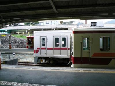 東武日光駅で並んだ6050型・30000型・18型
