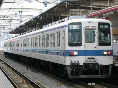 新栃木出張所に転属し宇都宮線運用に充当された8117F