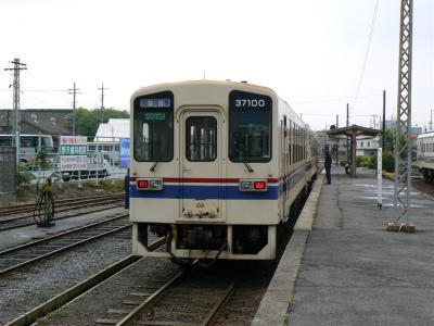 「那珂湊」単幕表示のキハ37100-03型