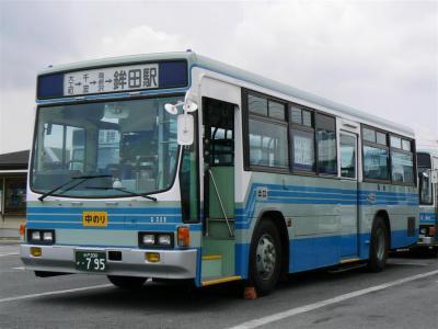 関鉄グリーンバスに導入された元国際興業キュービック