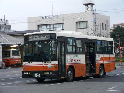 東武バスセントラル西新井営業所時代の2443号車
