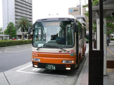 足立区役所に乗入れた竹52系統竹ノ塚駅東口ゆき