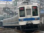 2217列車 準急 新栃木ゆき 8000型8557F他