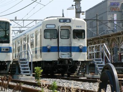 野田線の原型顔8000型は8516Fと8104Fのみ
