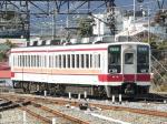 東武日光で折返し1116列車接続の「特急連絡」516列車として下今市に戻ってきた6175F