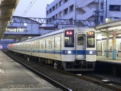 2341レ 準急 伊勢崎ゆき運用に充当された802F+852F(2006.03.05)