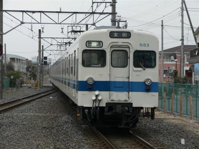 藪塚駅に進入する826レ 5153F
