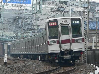 2603レ 区間急行 南栗橋ゆき 11632F