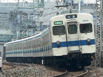 伊勢崎線で活躍する初期更新車8509F