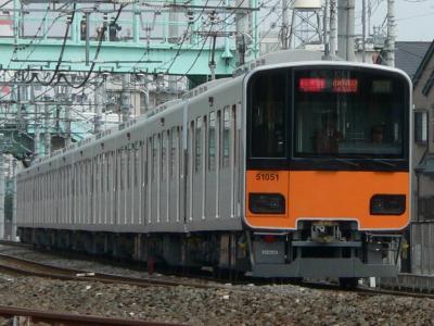 C1070Tに充当された51051F(2006.03.19 西新井~竹ノ塚間にて撮影)